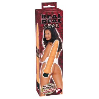 Vibratore Real Deal Anal