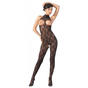 Catsuit di pizzo ouvert