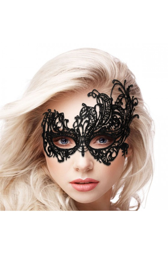 Maschera  modello Royal Black Lace nera