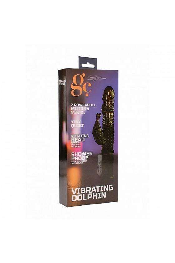 Vibratore modello Dolphin nero