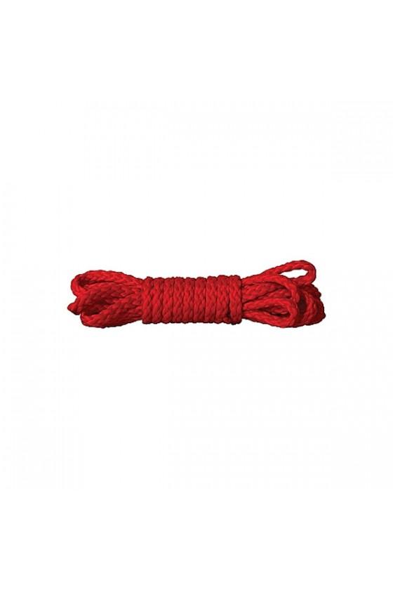 Corda 1,5m modello Kinbaku in Rosso